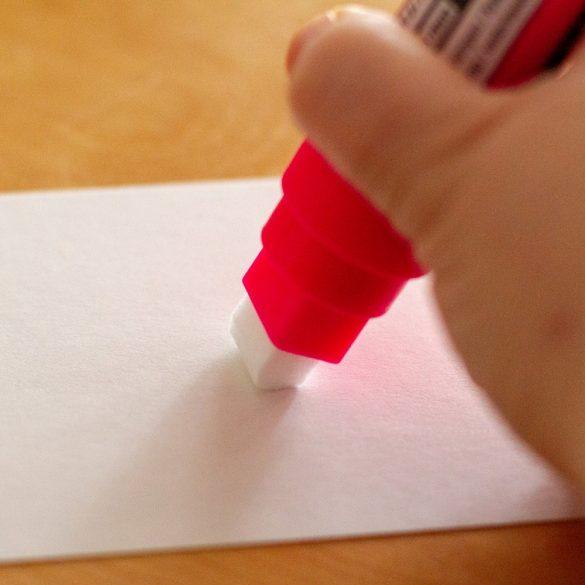 Marker cu Cretă Lichidă Neuland ChalkOne®, vârf 2-8 mm (C501) Alb