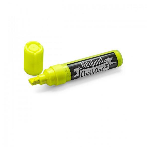 Marker cu Creta Lichida Neuland ChalkOne®, varf tesit 2-8 mm (C506) Galben