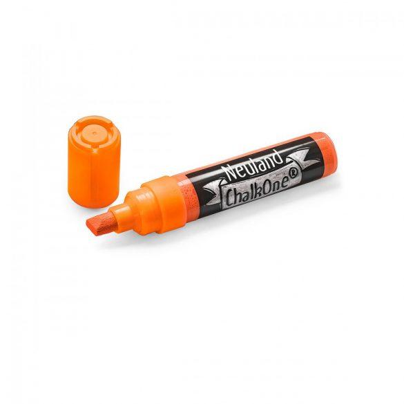 Marker cu Creta Lichida Neuland ChalkOne®, varf tesit 2-8 mm (C509) Portocaliu