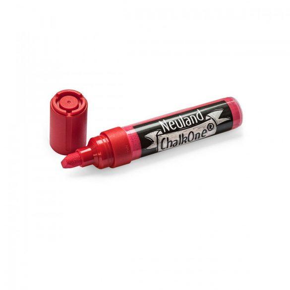 Marker cu Creta Lichida Neuland ChalkOne®, varf tesit 2-8 mm (C511) Rosu