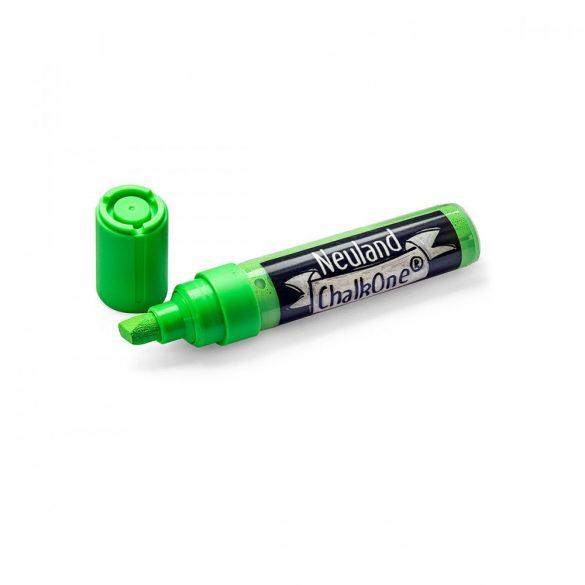Marker cu Creta Lichida Neuland ChalkOne®, varf tesit 2-8 mm (C539) Verde