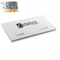 Notițe Estatics electrostatice L 20x10 cm - Transparente