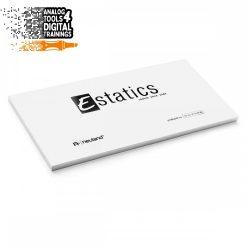 Notițe Estatics electrostatice L 20x10 cm - Set unicolor