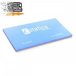 Notite electrostatice Neuland Estatics L 20x10 cm, Albastru