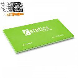 Notite electrostatice Neuland Estatics L 20x10 cm - Verde
