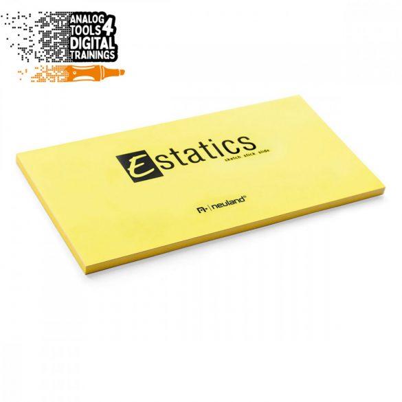 Notite electrostatice Neuland Estatics L 20x10 cm, Galben