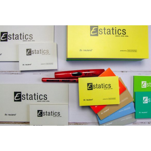 Notite electrostatice Neuland Estatics, L 20x10 cm - Petrol