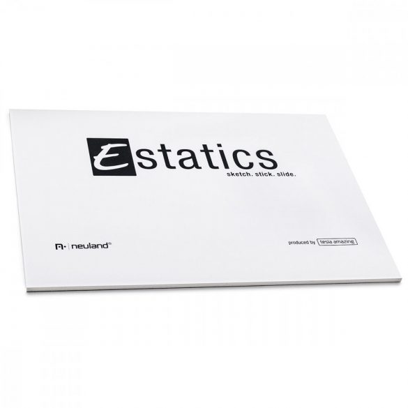Notite electrostatice Neuland Estaticsics A5 - Alb