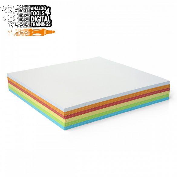 Notite Adezive, Neuland InstaCards maxi Stick-It, 300 file, culori asortate