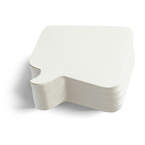 Carduri Moderare Training Neuland Pin-It, Bubble, 11 x 11 cm, 250 buc, Alb