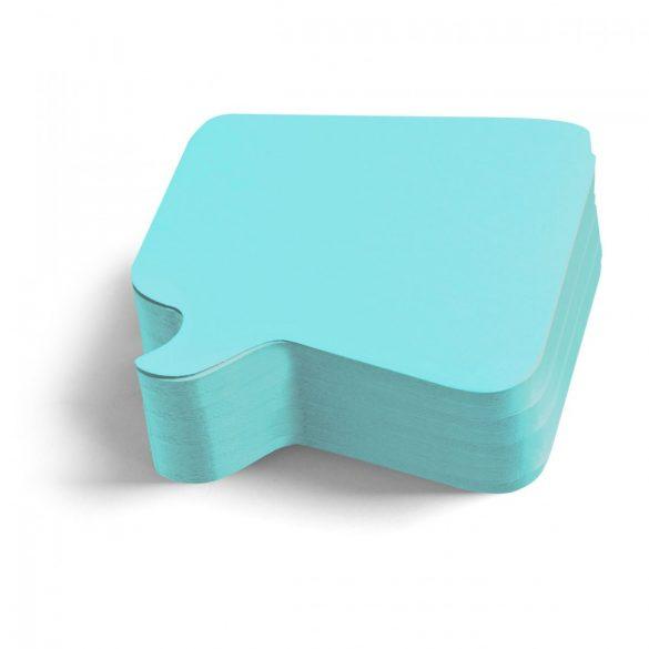 Carduri Moderare Training Neuland Pin-It, Bubble, 11 x 11 cm, 250 buc, Albastru