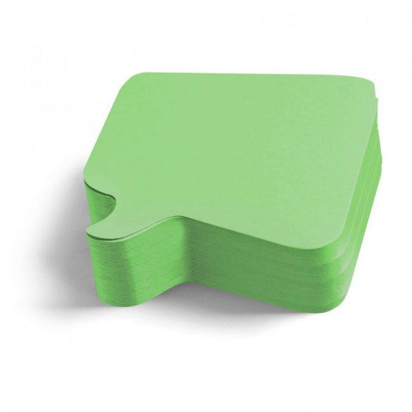 Carduri Moderare Training Neuland Pin-It, Bubble, 11 x 11 cm, 250 buc, Verde