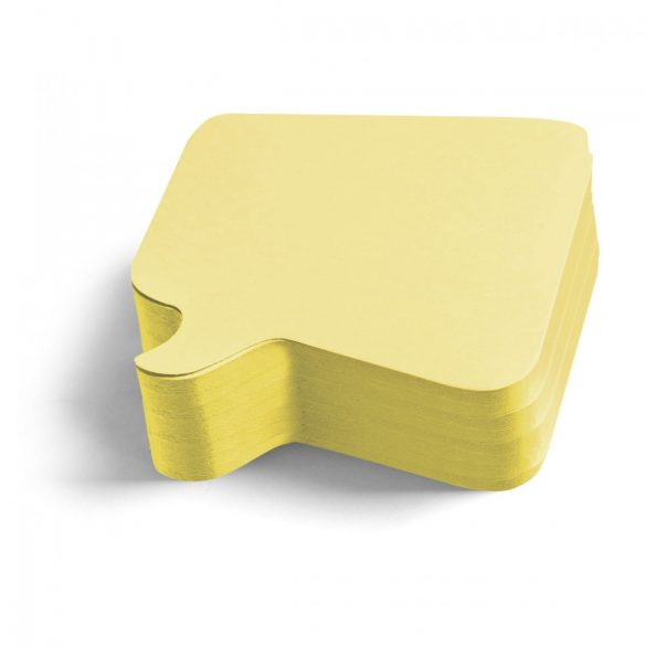 Carduri Moderare Training Neuland Pin-It, Bubble, 11 x 11 cm, 250 buc, Galben