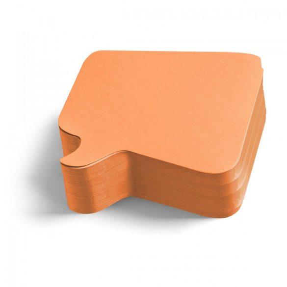 Carduri Moderare Training Neuland Pin-It, Bubble, 11 x 11 cm, 250 buc, Portocaliu