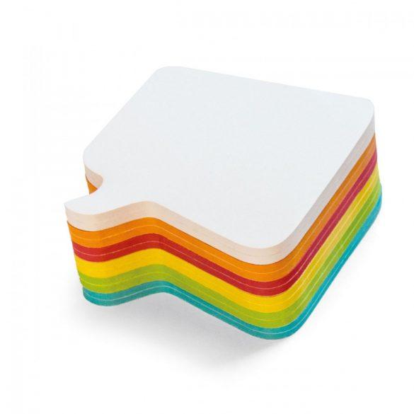 Notite Adezive, Neuland Stick-It, model Comment, 11 x 11 cm, 300 file, culori asortate
