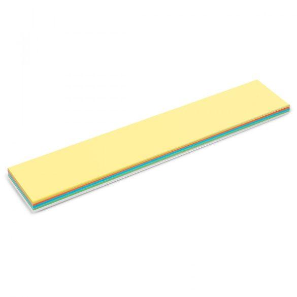Notite Adezive, Neuland Stick-It, model Titlu, 9,5 x 54,5 cm, 150 file, culori asortate