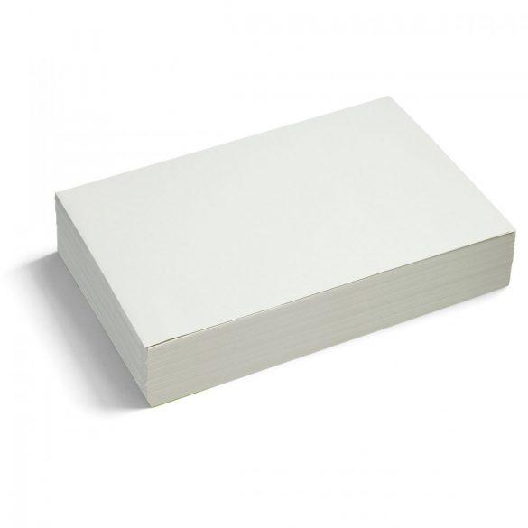 Bloc Notițe Moderare Training Neuland Pin-It, 14,9 x 20,7 cm, 250 file, Alb