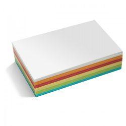 Notes Autoadeziv, Stick-It, 300 file, 14,9 x 20,7 cm, culori asortate