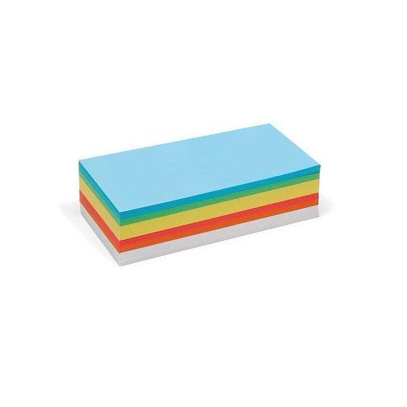Bloc Notițe Moderare Training Neuland Pin-It, Rectangulare, 9,5 x 20,5 cm, 250 file, culori asortate