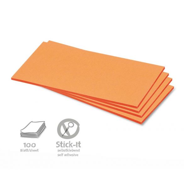 Notite adezive, Neuland Stick-It, 20,5 x 9,5 cm, 100 file