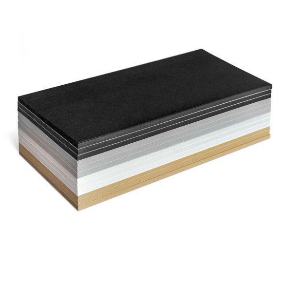 Notite Adezive, Neuland Stick-It, Dreptunghiulare, 9.5 x 20.5 cm, 300 file, set culori mate