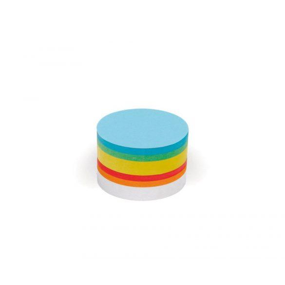 Bloc Notițe Moderare Training Neuland Pin-It, Rotunde, Diametru: 9,5 cm, 250 file