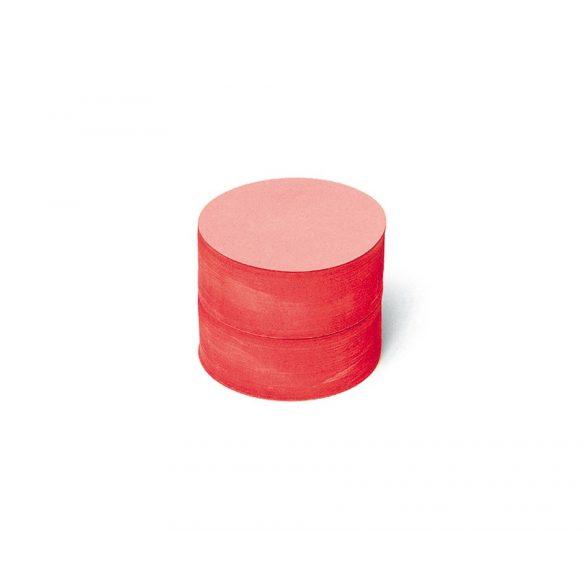 Carduri Moderare Training Neuland Pin-It, Rotunde, Medii, Ø 9,5 cm, 500 buc, Roșu
