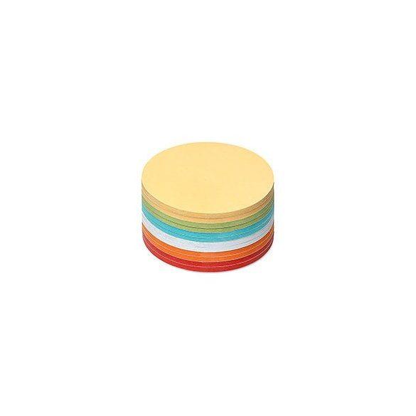Notite Adezive, Neuland Stick-It, Cerc, 9.5 x 9.5 cm, 300 file, culori asortate