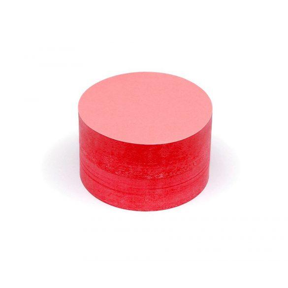 Carduri Moderare Training Neuland Pin-It, Rotunde, Medii, Ø 14 cm, 500 buc, Roșu