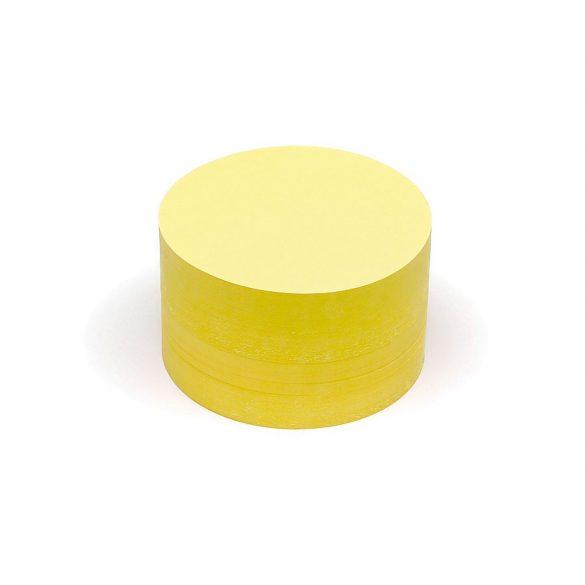 Carduri Moderare Training Neuland Pin-It, Rotunde, Medii, Ø 14 cm, 500 buc, Galben