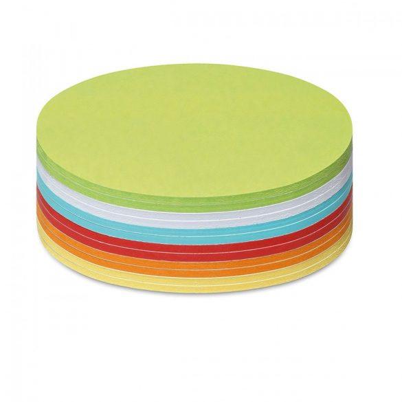 Notite Adezive, Neuland Stick-It, Cerc, 14x14 cm, 300 file, culori asortate