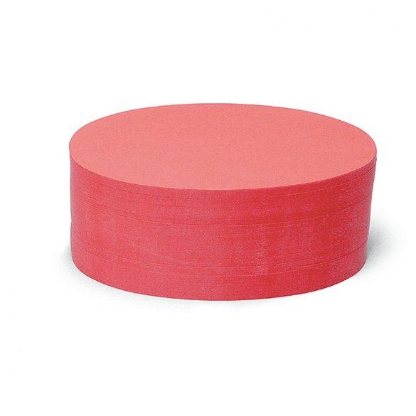 Bloc Notițe Moderare Training Neuland Pin-It, 500 file, ovale, Roșu