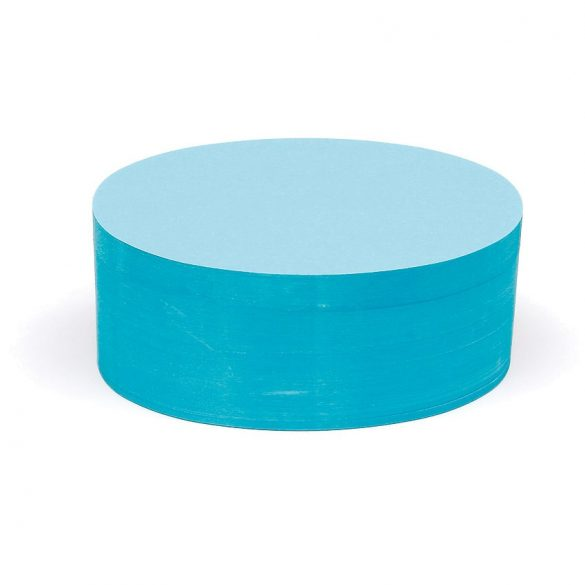 Bloc Notițe Moderare Training Neuland Pin-It, 500 file, ovale, Albastru