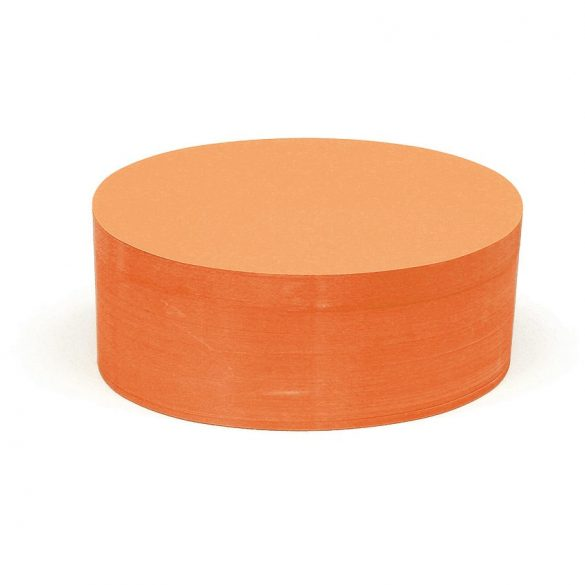 Carduri Moderare Training Neuland Pin-It, Ovale, 11 x 19 cm, 500 buc, Portocaliu