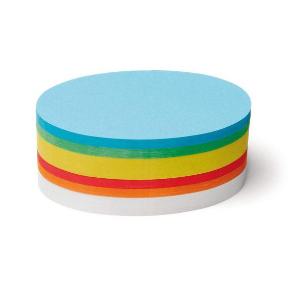 Carduri Moderare Training Neuland Pin-It, Ovale, 11 x 19 cm, 500 buc, set culori asortate