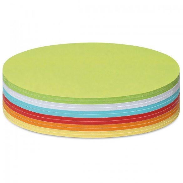 Notite adezive, Neuland Stick-It, Ovale, 11 x 19 cm, 300 file, culori asortate