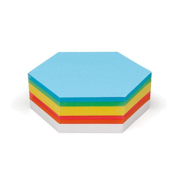 Carduri Moderare Training Neuland Pin-It, Hexagon, 9,5 cm, 250 buc, set culori asortate