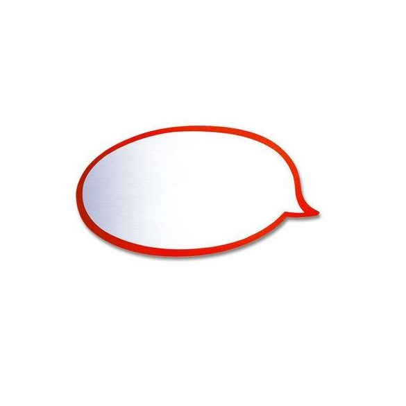 carduri Moderare Training Neuland Pin-It, Balon de Vorbire, 20 x 11 cm, 50 buc
