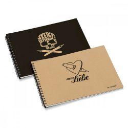 My Sketchbook: set 2buc (natur si negru)