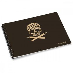 Caiet schite My Sketchbook, coperta neagra
