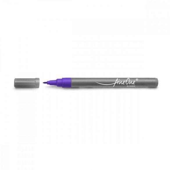 Marker Fineliner Neuland FineOne® varf rotund, 0.8 mm, Violet (700)