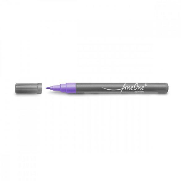 Fineliner Marker cu varf rotund Neuland FineOne®, 0.8 mm Unicolore