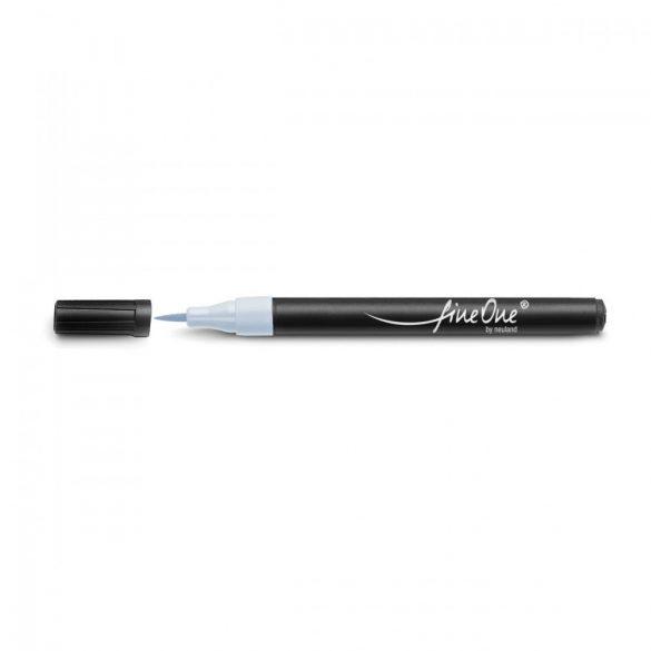 fineOne by Neuland®, brush nib 0.5-5 mm - Light grey