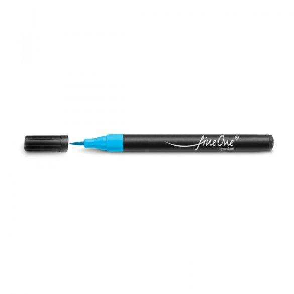 Marker Refill Neuland FineOne® Art, vârf pensulă 0.5-5 mm: Turcoaz (301)