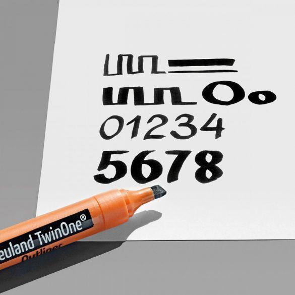 Rezerve varf tesit pentru markere  Neuland TwinOne®  - 10/set