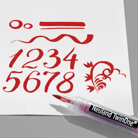 Rezerve varf pensula pentru markere Neuland TwinOne®- 10/set