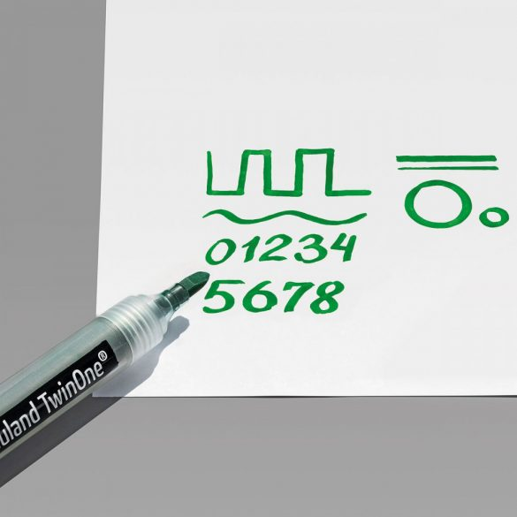 Rezerve varf drept pentru markere Neuland TwinOne® - 10/set