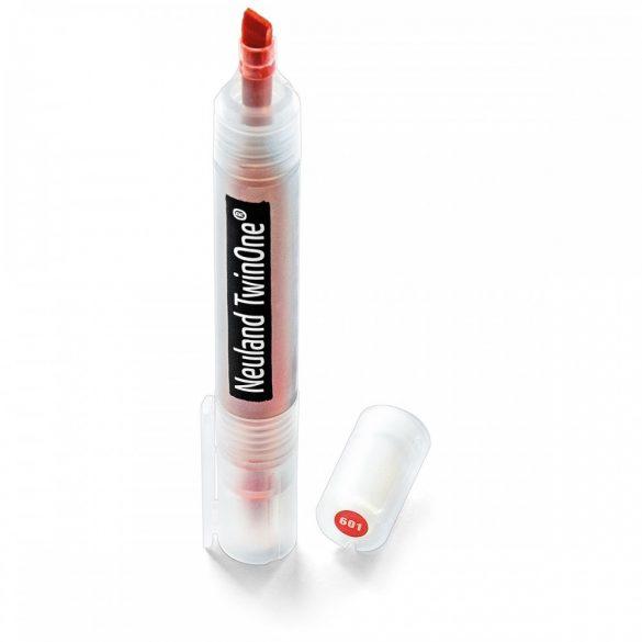 Marker reincarcabil, 2 varfuri, Neuland TwinOne®, Rosu 200