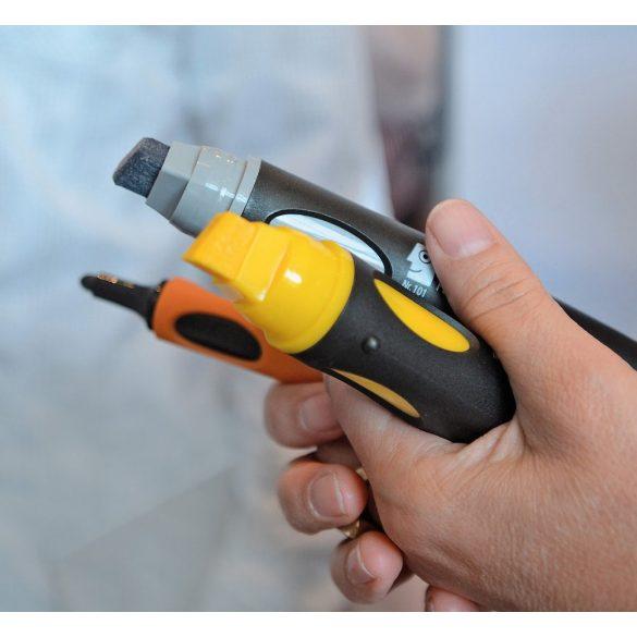 Marker Reincarcabil Neuland BigOne® vârf teșit, 6-12 mm: Albastru Pastel (303)