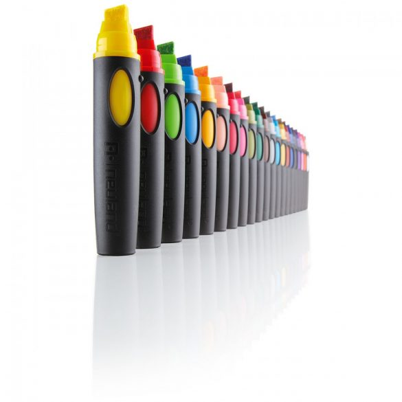Marker Reincarcabil Neuland BigOne®, vârf teșit, 6-12 mm, Roz Neon (704)
